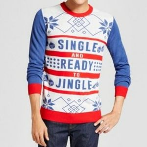 New Men's Ugly Christmas Sweater Size Large